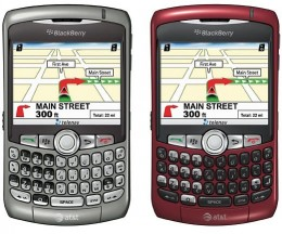 New Blackberry Curve 4G mobile phone