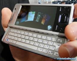 Sony Ericsson Xperia 4G mobile phone