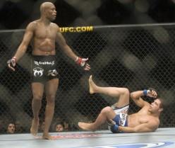 Anderson Silva At UFC 112