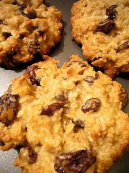Antioxidant raisin cookies