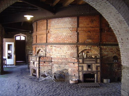 Kiln at Casseaux, Limoges, Limousin, France