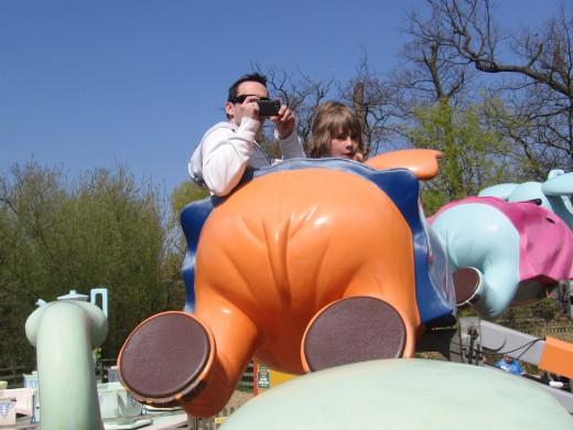 Taken whilst on the Flying Elephants