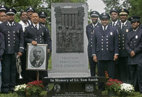 Honoring IFD's first African-American Officer