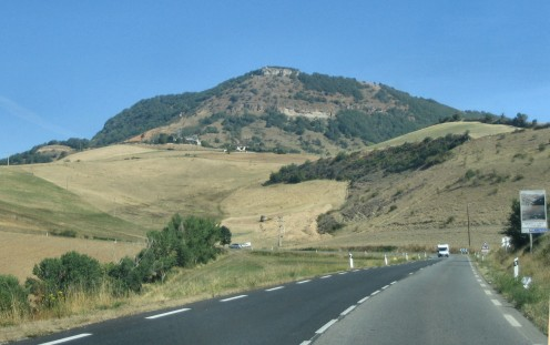 Driving Through France - Copyright Tricia Mason