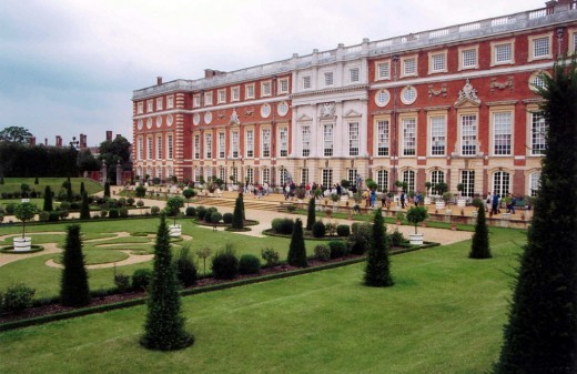 Baroque Hampton Court Palace
