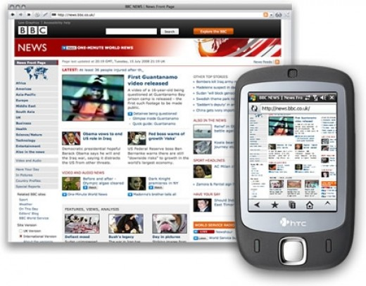 Opera widgets are very popular for mobile phones