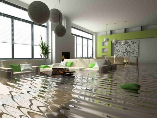 HELP..WASHING MACHINE FLOODED ALL OVER LAMINATE..IS IT MY