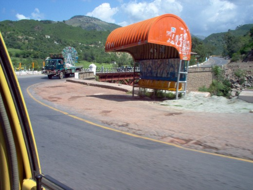On the road to Murree