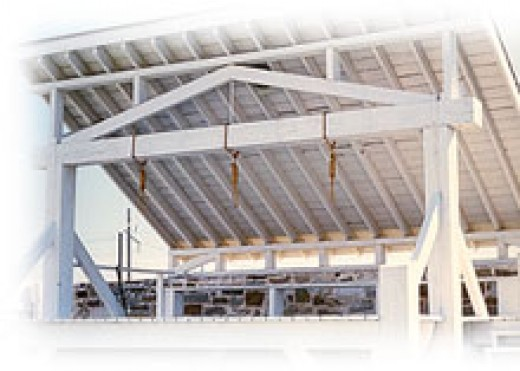Judge Isaac Parker - The Hanging Judge: Gallows in Ft. Smith where all of the Executions Took Place