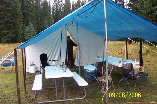 Elk camps can become a tradition