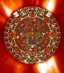 The Aztec sun stone contains a calendar that is highly accurate. The gods are different than ours but serve similar functions.