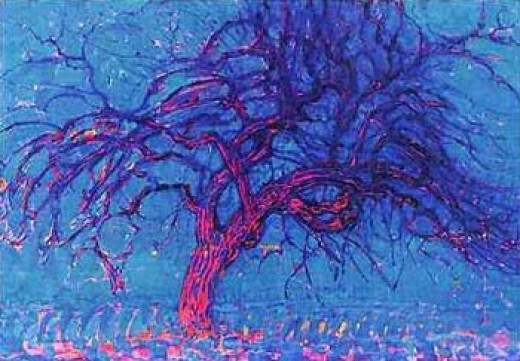 Piet Mondrian Avond (Evening) The Red Tree, 1908-10