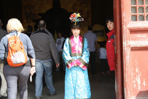 Welcome at the Ming Tombs