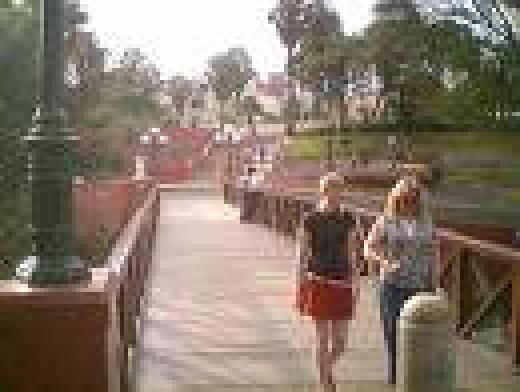 El Puente de los Suspiros during the day
