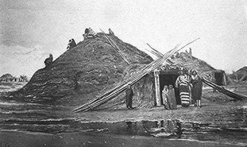 Traditional Pawnee Lodge