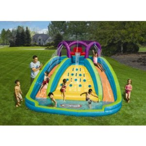 Little Tikes outdoor water slide for toddlers