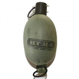 A paintball grenade.