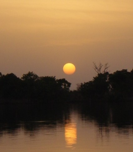 Is the sun setting on Earth Day?