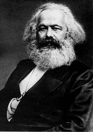 Karl Marx (1818 - 1883) Public Domain Photo courtesy of WikiPedia.org  http://en.wikipedia.org/wiki/File:Karl_Marx_001.jpg