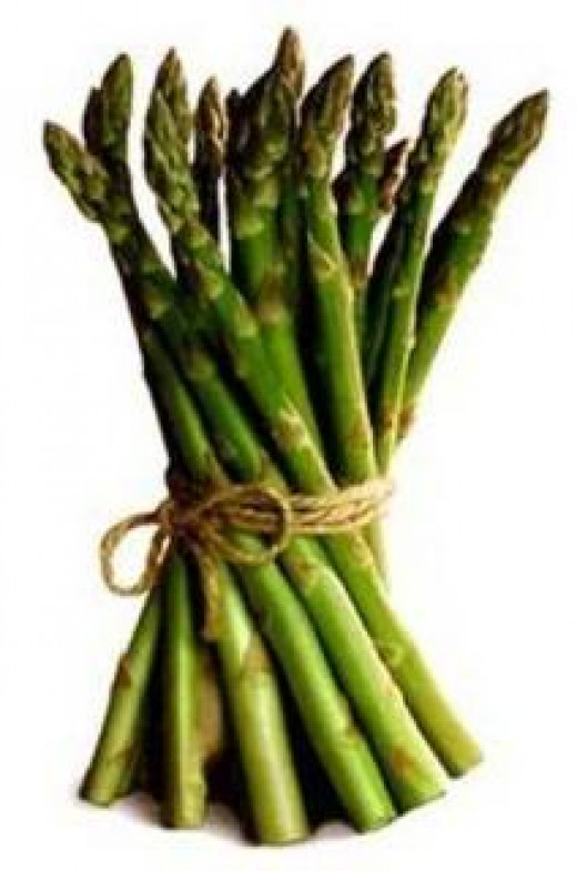 The wonderful vegetable - the asparagus.