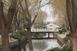 Park/canal on the way to Tiananmen