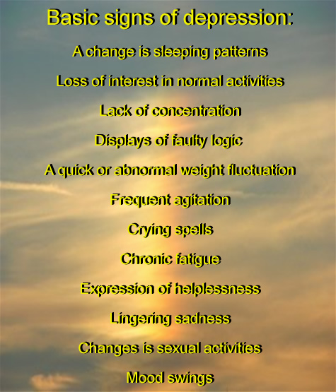 Rich Naran's Depression Awareness Signs and Symptons Freee Download. Right Click download and Print Out