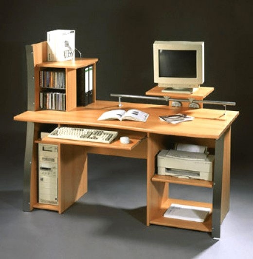 Attractive Types Of Home Computer Desks