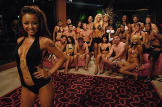 Tila Tequila and suitors