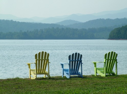 Adirondack Chairs Lakeside