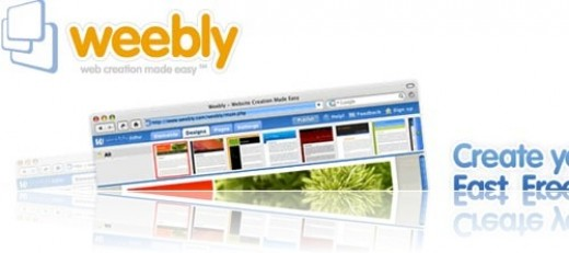 Free websites with Weebly.