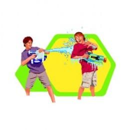 Great fun with a super soaker gun
