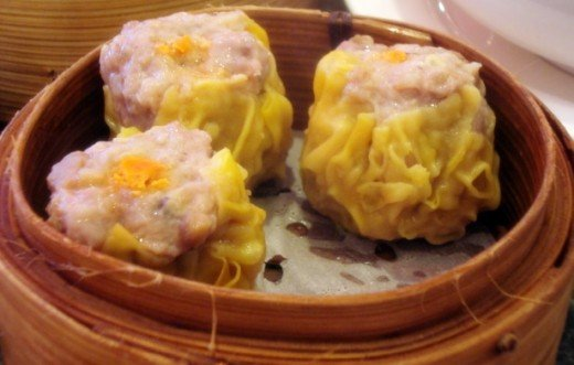 Pork Dumpling (Siu Mai-the most common Dim Sum