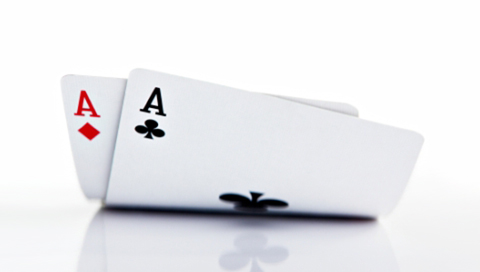 Also known as Pocket Rockets or American Airlines, this is the best starting hand pre-flop in Texas Hold em poker.