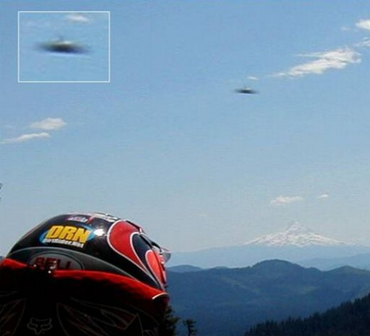 This photo is typical of UFO pictures, poor and indistinct. It could easily be something else.