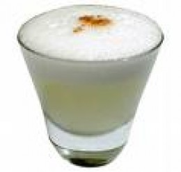 Pisco sour, a Peruvian drink