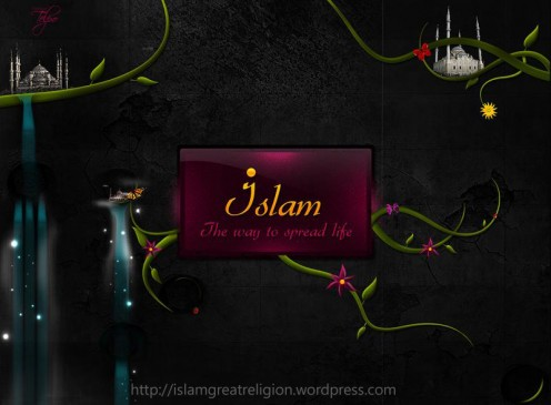 Islam Way of Life !  http://islam-wallpapers.blogspot.com/  Wallpaper Channel by   http://islamgreatreligion.wordpress.com