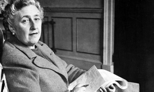 The Queen of Crime, Dame Agatha Christie.