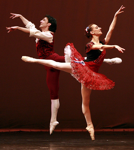 Ballet is a joyful art!
