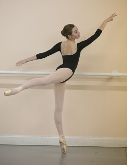 arabesque ballet