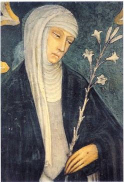 Inspired Virgin Saint and Doctor of the Church Catherine of Siena