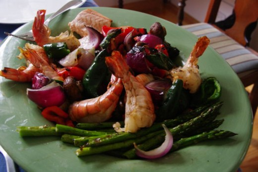 How to grill shrimp, seeman, morguefile.com