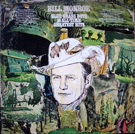 Bluegrass legend Mr. Bill Monroe and his Bluegrass Boys. I was lucky enough to see Bill a couple of times.