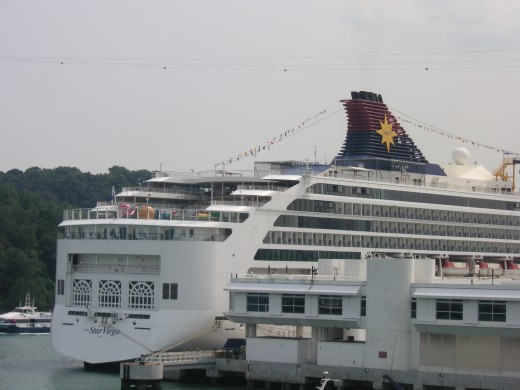 One of the Star Cruise ships.