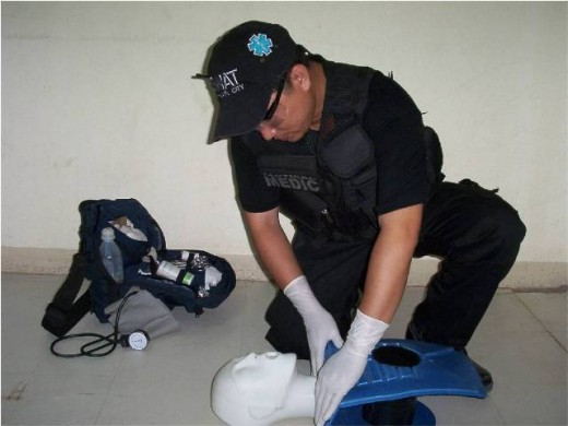 SWAT Medic Gerry Caballes