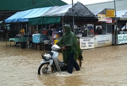 Koh Samui development has been at the expense of nature. As a result, there are frequent floods during the rainy season