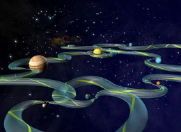 One of the latest ways of getting around the solar system is via the space super-highway as it has been dubbed.
