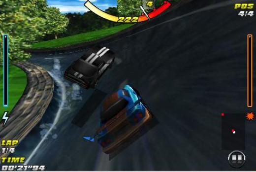 Raging Thunder (note: screen cap is of the iPhone version, but Android version looks virtually identical)