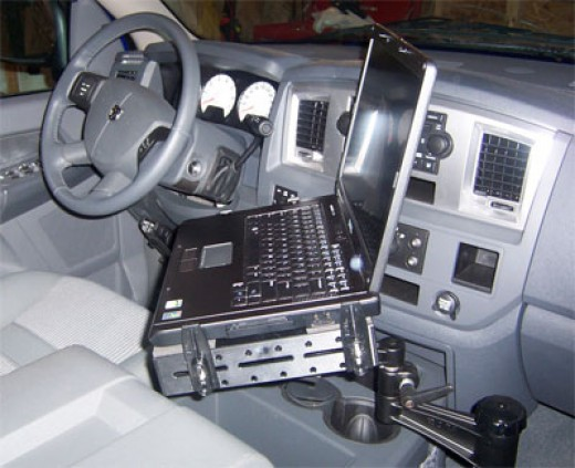 Car Laptop Stand