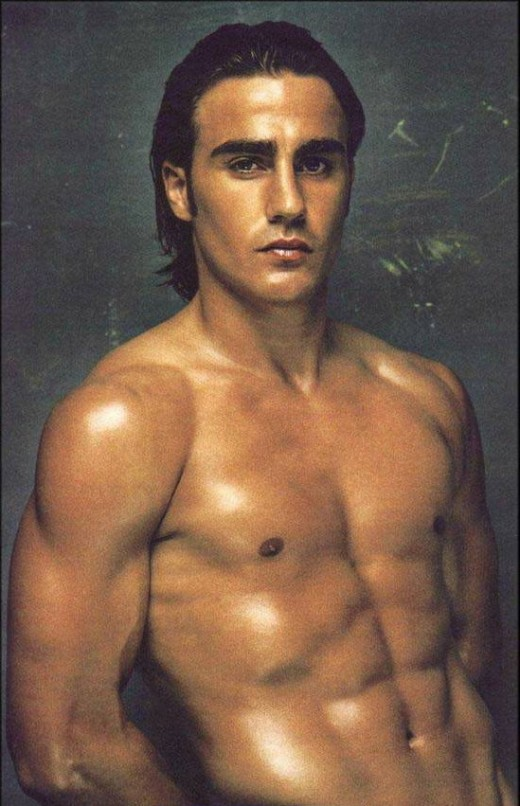 Fabio Cannavaro, soccer players posters,click to enlarge