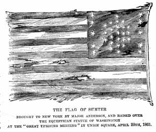 Civil War Battles Kids Coloring Pages and Free Colouring Pictures to Print , Battle Flag of Fort Sumter